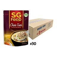 Thùng cháo tươi Sài Gòn Food Thịt thăn bằm & Bí đỏ 270g x 30 gói thumbnail