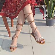 Giày Sandal Chiến Binh Boho Vintage mặc đi chơi biển, đi núi rất đẹp - SHOP NHƯ Ý - T01 thumbnail
