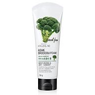 Sữa rửa mặt bông cải xanh Around Me Broccoli Foam Hàn Quốc 150g thumbnail