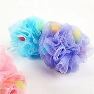 [COMBO 2 Chiếc] Bông tắm dạng lưới tạo bọt siêu mềm mịn cho bé - Màu ngẫu nhiên thumbnail