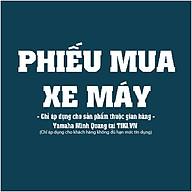 Phiếu Mua Xe Máy Yamaha Minh Quang thumbnail