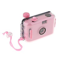 Underwater Waterproof Lomo Camera Mini Cute 35mm Film With Housing Case Pink thumbnail