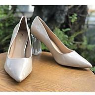 Giày cao gót công sở Hot trend 2020 da bóng đế trong 21325 thumbnail