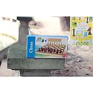 Cờ vua bằng gỗ cho trẻ em, đồ chơi cao cấp trẻ em an toàn cho bé yêu - Tặng sách dạy đánh cờ vua. thumbnail