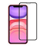 Miếng Dán Kính Cường Lực Cho Iphone 11 - Màu Đen - Full Màn Hình - Hàng Chính Hãng thumbnail