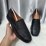 Giày Mọi Da Khắc Vân Da Mềm, Đế Khâu Siêu Bền thumbnail