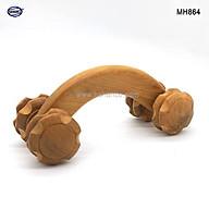 Dụng cụ lăn massage toàn thân 4 bánh đa năng (MH864) Hỗ trợ giảm đau nhức xương khớp - Chăm sóc sức khỏe thumbnail