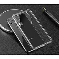 Ốp lưng silicon dẻo trong suốt chống sốc dành cho iPhone X thumbnail