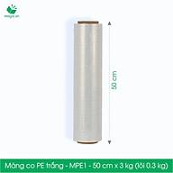 MPE1 - Khổ 50 cm - 3kg - Cuộn PE màng co thumbnail
