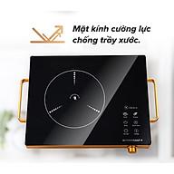Bếp từ hồng ngoại 2000W ( có nhôm cách điện và khóa thời gian an toàn ) thumbnail