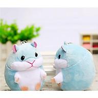Móc khóa hamster siêu cute, siêu xinh xắn treo balo, móc khóa cực xịn thumbnail