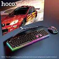Combo bàn phím chuột gaming Hoco GM11 Led RGB - Hàng chính hãng, thumbnail