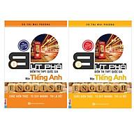 Combo 2 bộ sách Bứt Phá Điểm Thi THPT Quốc gia Tiếng anh 1 + Tiếng Anh 2( Tặng kèm 1 giá đỡ iring) thumbnail