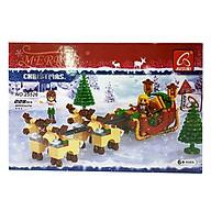 Bộ Lắp Ghép Giáng Sinh Hạnh Phúc Ausini 25326 thumbnail