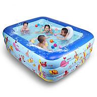 Bể Bơi Chữ Nhật 3 Tầng 180cmx130cmx60cm thumbnail