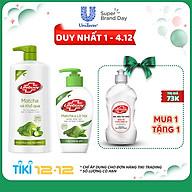 Combo Lifebuoy Sữa Tắm Matcha Và Khổ Qua (850g) + Nước Rửa Tay Matcha Và Nha Đam (180g) thumbnail