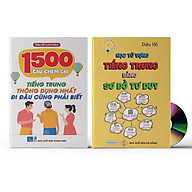 Combo 2 sách 1500 Câu chém gió tiếng Trung thông dụng nhất + Học từ vựng tiếng Trung bằng sơ đồ tư duy + Kèm DVD thumbnail