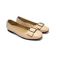 Giày búp bê ZAHAN mũi vuông, nơ đá BZAT158 thumbnail