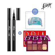 Combo Sắc Sảo Last Pen Eyeliner 0.6g 01 Sharpen Black + 01 Final Palette tặng 01 Pouch thumbnail