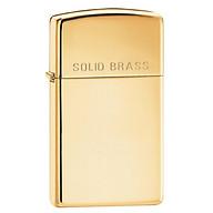 Bật Lửa Zippo Venetian Slim Brass 1652B thumbnail