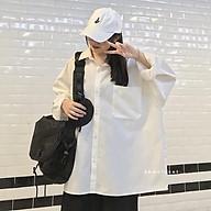Áo sơ mi trắng tay bồng over size jem closet áo sơ mi trắng học sinh form rộng thumbnail