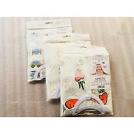 Combo 3 Bộ Quần Áo Trẻ Sơ Sinh Cao Cấp Sợi Cotton Fiber Bamboo Dành Cho Bé 6-9 Tháng Tuổi ( Màu Ngẫu Nhiên ) thumbnail