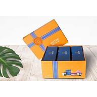Combo 3 hộp thực phẩm chức năng đông trùng hạ thảo hector sâm và hộp quà đi kèm sang trọng, chắc chắn phù hợp cho tặng quà, đem biếu dịp lễ, dịp Tết, dịp đặc biệt. thumbnail