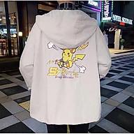 Áo Khoác Dù Chống Nắng 123SHOP Cho Nam Nữ Đôi Có 3 Màu, Ulzzang Unisex in hình PIKa Form Rộng Jacket thumbnail