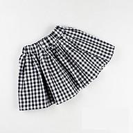 Chân váy caro Quảng Châu cho bé gái R02963 thumbnail