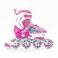 COMBO Giày trượt patin Power Star Baby phù hợp cho bé từ 3 tuổi đến 14 tuổi có thể điều chình 3 size (gồm giày + bảo hộ tay chân 6 món + mũ bảo hộ) thumbnail
