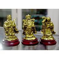 Bộ tượng Tam Đa-Ba ông Phúc Lộc Thọ có đế cao 9cm-Nhiều Mẫu thumbnail