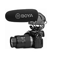 Micro thu âm gắn máy Boya BY-BM3032 hàng chính hãng. thumbnail