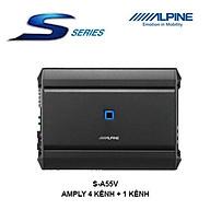 S-A55V Amply ô tô 4 kênh + 1 kênh chính hãng Alpine thumbnail