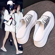Giày Sục Nữ Độn Đế Đạp Gót Dáng Thể Thao Mery Shoes Siêu Xinh - T29 thumbnail