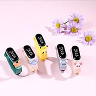 đồng hồ điện tử đeo tay ZGO DISNEY led kute đáng yêu cho bé (giao màu ngẫu nhiên) thumbnail