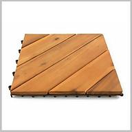 Vỉ gỗ lót sàn tiêu chuẩn Châu Âu - Tấm ván lót sàn gỗ keo vỉ nhựa 4,6 nan chéo phía dưới vít ốc chắc chắn thumbnail