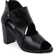Giày Boot Nữ Cổ Thấp Rosata RO114 - Đen thumbnail