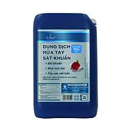 Dung dịch rửa tay sát khuẩn E-Clean can 25 lít [Tặng bình xịt dung tích 500ml + khăn ướt tẩm cồn] thumbnail