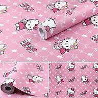 10m Giấy dán tường hello kitty hồng C0079 thumbnail