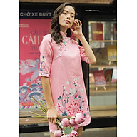 Áo Dài Nữ Cách Tân Fashion & Freedom F2-AD-21-Hồng Anh Đào thumbnail