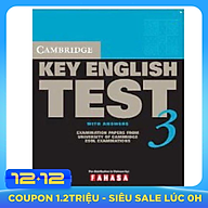 Cambridge Key English Test 3 with Answers thumbnail