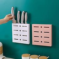 Giá treo dao dán tường kích thước 20x19.2x3 cm - Giao màu ngẫu nhiên thumbnail