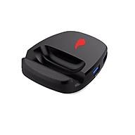 Bộ chuyển đổi game REZAR P30 dùng chuột và bàn phím cho điện thoại chơi game PUBG, Call of Duty kết nối 4 chế độ có dây và không dây thumbnail
