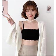 Áo bra cotton hai dây CHẤT ĐẸP thumbnail