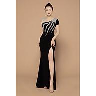 Đầm dạ hội xẻ đùi đính kim sa V003 thumbnail