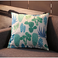 vỏ gối tựa lưng nhung cây xanh sbk1973 thumbnail