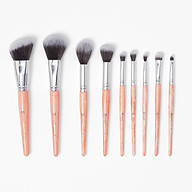 Cọ Trang Điểm BH COSMETICS Rose Quartz 9 Piece Brush Set thumbnail