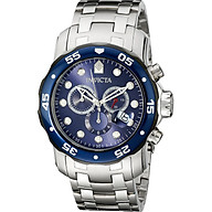 Invicta Men s 80057 Pro Diver Stainless Steel Watch with Blue Dial thumbnail