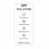 Dán dẻo PPF full Oppo Reno - Hàng nhập khẩu thumbnail