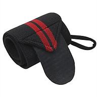Đai quấn bảo vệ cổ tay hỗ trợ Tập Gym, Nâng Tạ sọc đỏ(1 đôi) thumbnail